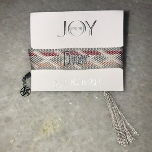 DIOR woven bracelet